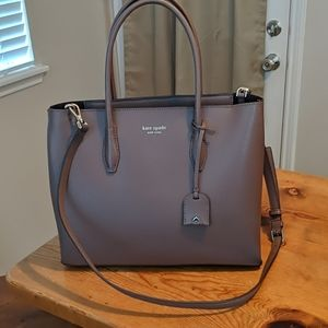Kate Spade Zip Top Satchel Crossbody Bag
